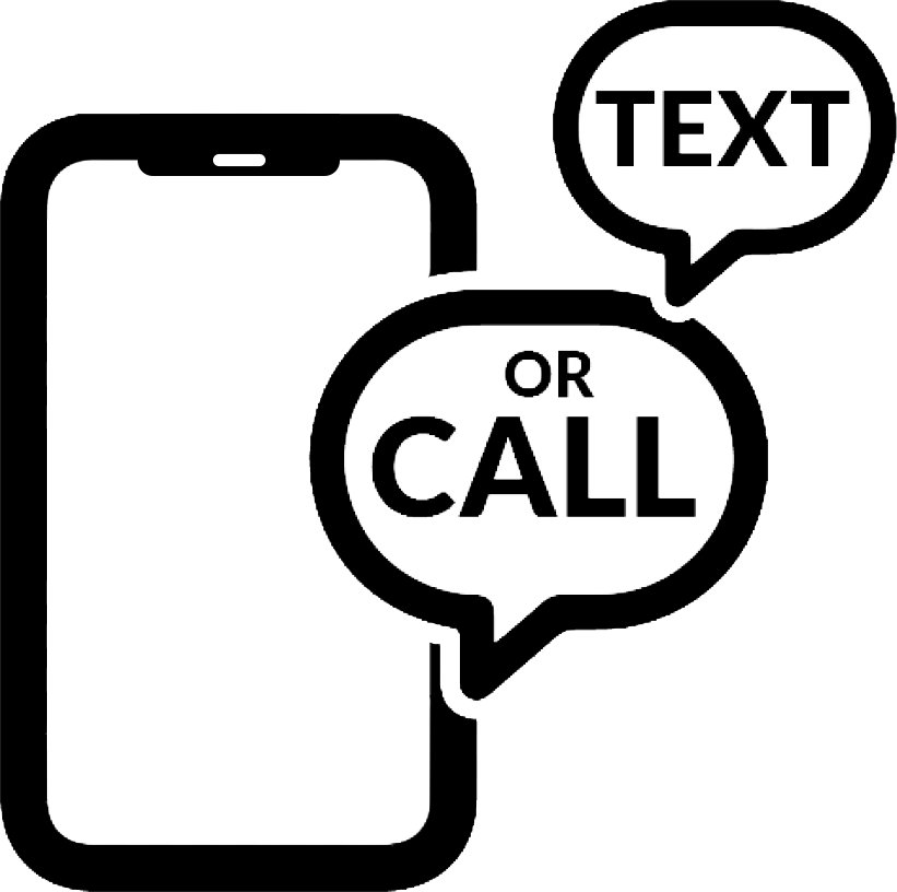 Text or Call Icon