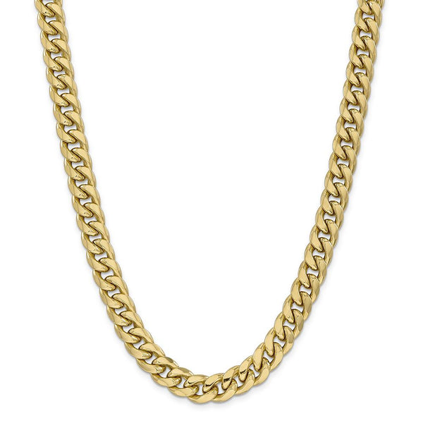 11mm Miami Gold Cuban Chain