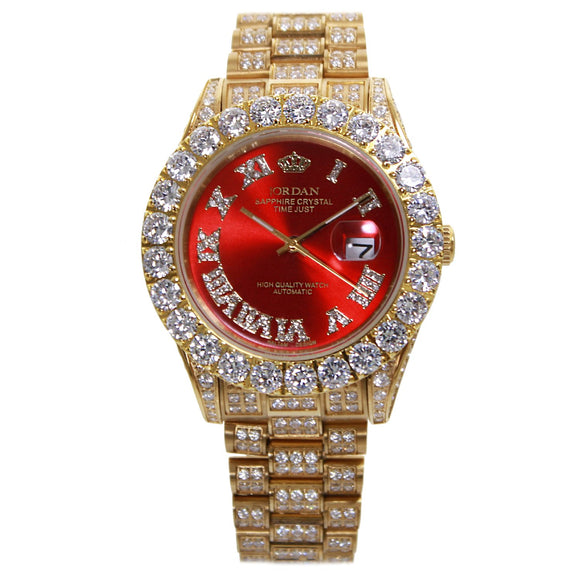 Red Bust Down Jordan Watch LIMITED EDITION