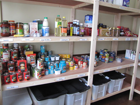 Food Bank Shelves Are Empty