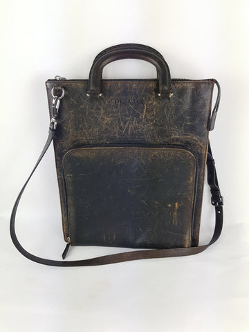Prada vintage satchel bag