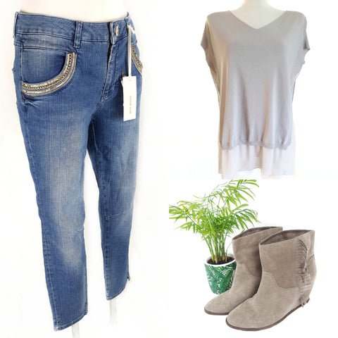 Mos Mosh Jeans, D.exeterior top, Ash wedge boots all second hand