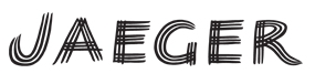 featured designer brand jaeger logo