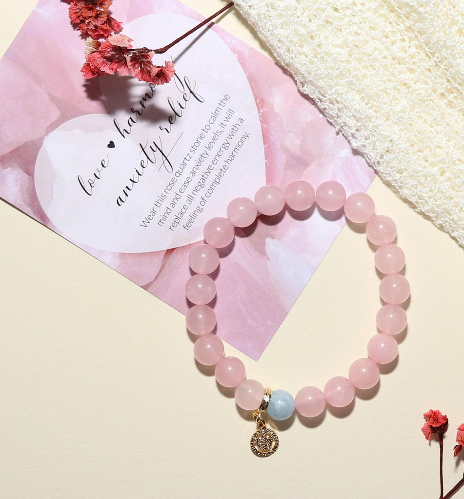 'Self Love' Rose Quartz Bracelet