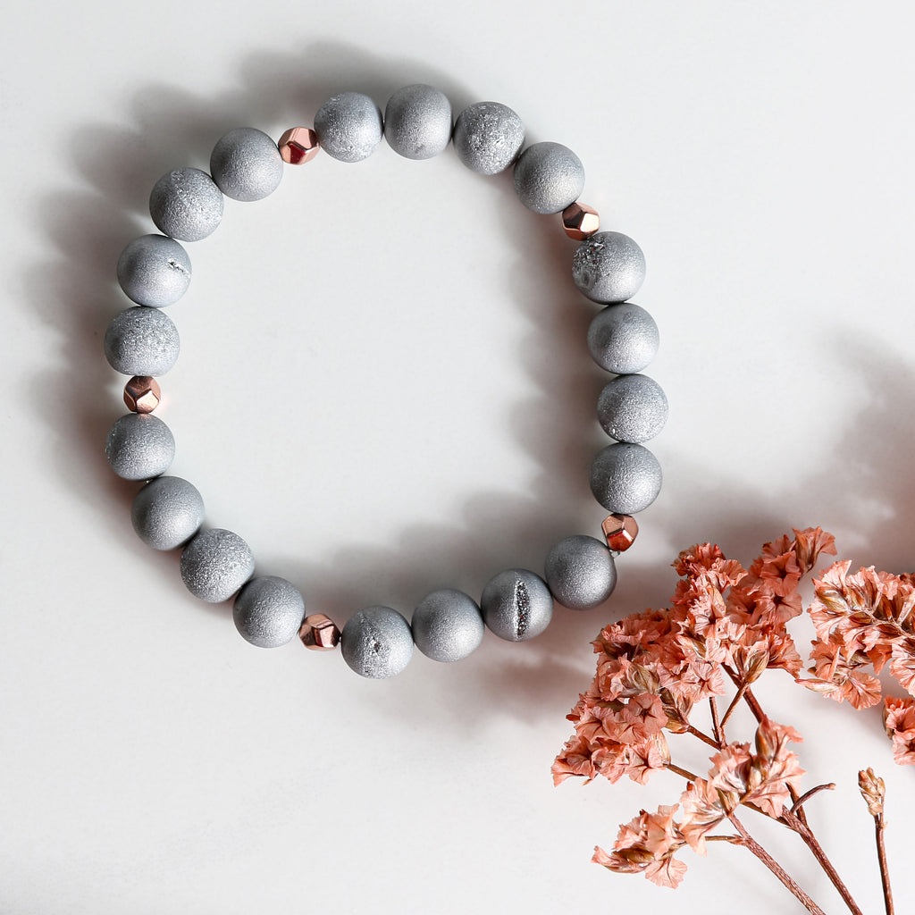 The Magic Of Druzy Stones Bracelet