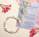 'Loving Motherhood' Healing Stones Bracelet