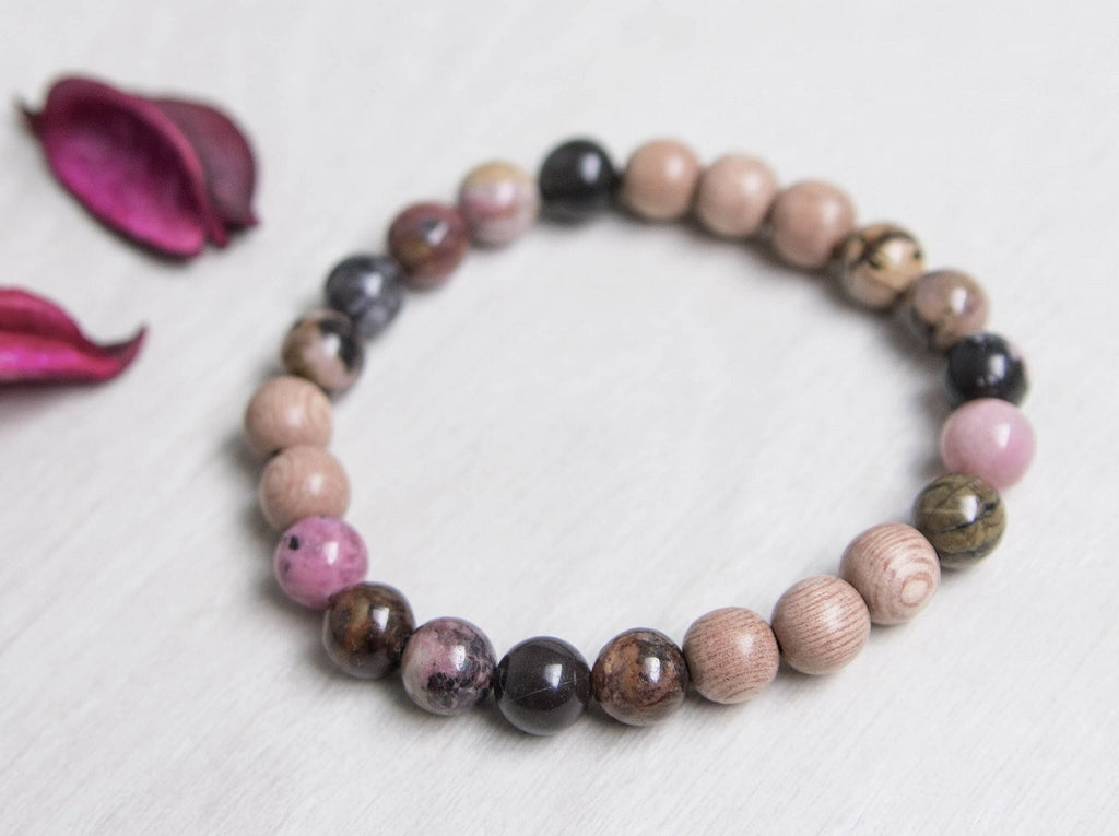 Lava Rock Diffuser Bracelet - 'Love And Balance' Bracelet