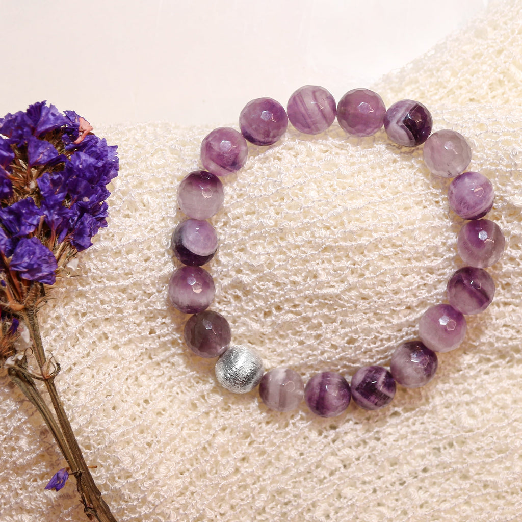 Peace And Stability Amethyst Crystal Bracelet