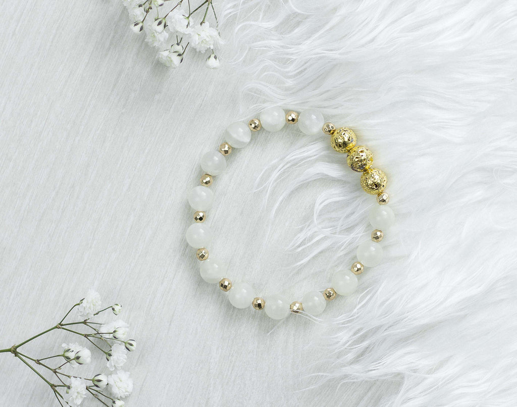 Moonstone Crystal Bracelet - 'Magic Maker' Bracelet