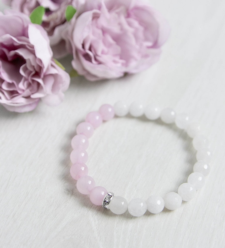 'Peace Of Mind' Crystal Quartz Bracelet