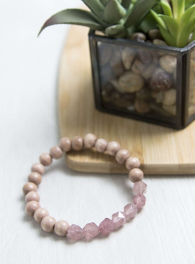 'Protective and Healing' Rosewood Diffuser Bracelet