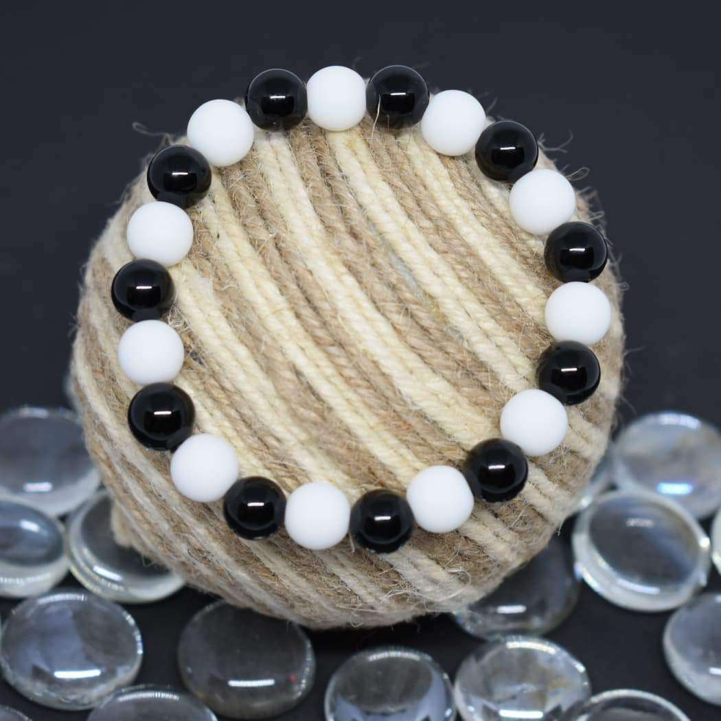 Courage And Strength Natural Stone Handmade Bracelet