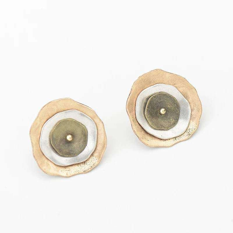 Irregular Shape Statement Stud Earrings Earrings BeAdornedUK
