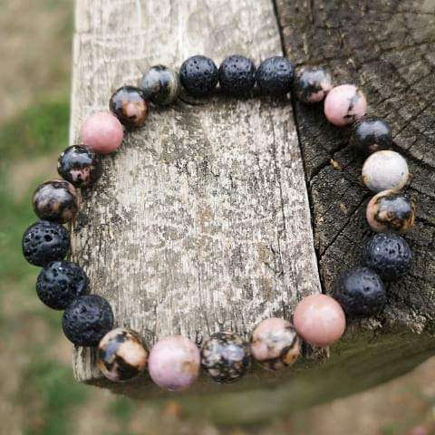 Love And Balance Lava Rock Diffuser Bracelet
