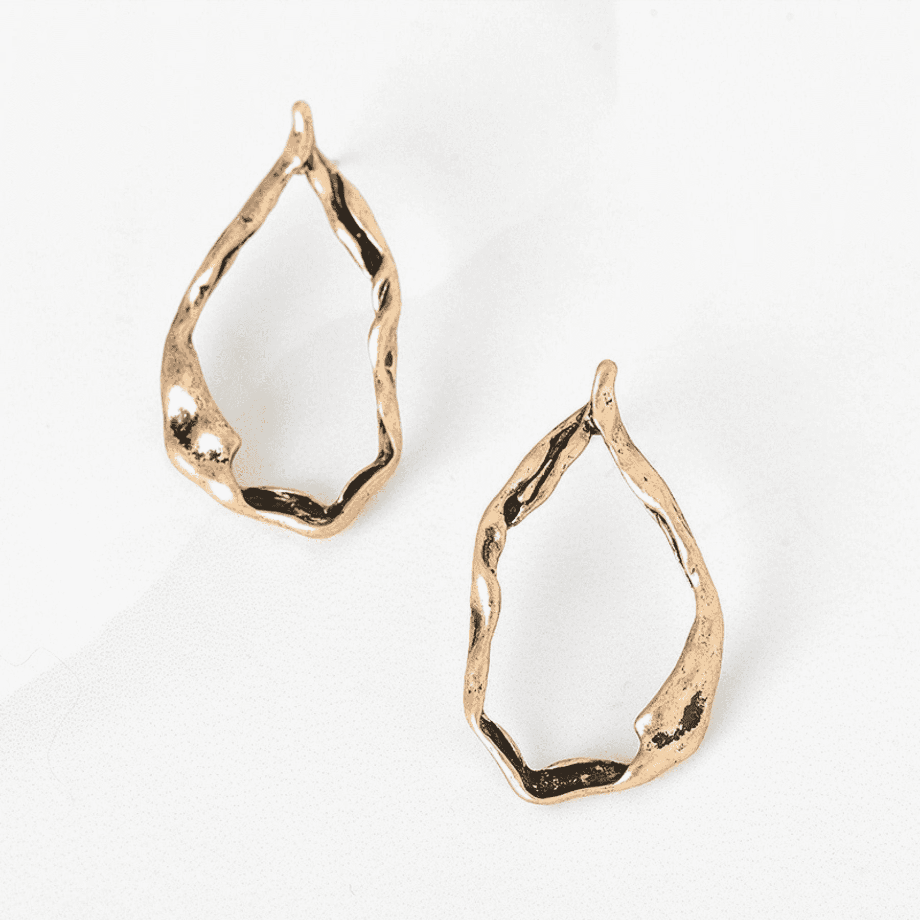 Minimalist Magic Gold Stud Earrings