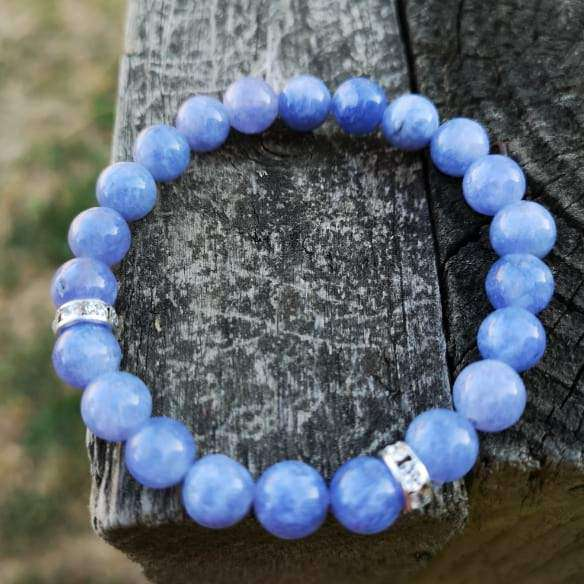 'Peace And Calm' Angelite Stones Bracelet