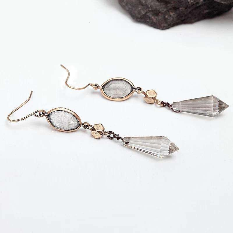 Purest Love Vintage Long Drop Earrings