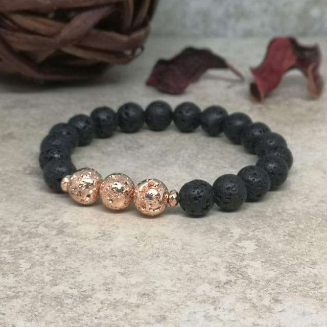 Essential Oil Bracelet - 'Strength And Courage' Bracelet