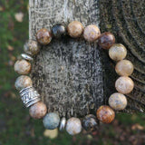 'Strength And Protection' Agate Healing Stones Bracelet Bracelets BeAdornedUK
