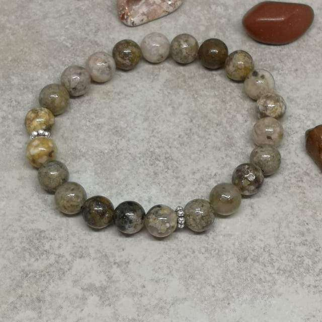 'Strength And Protection' Agate Healing Stones Bracelet