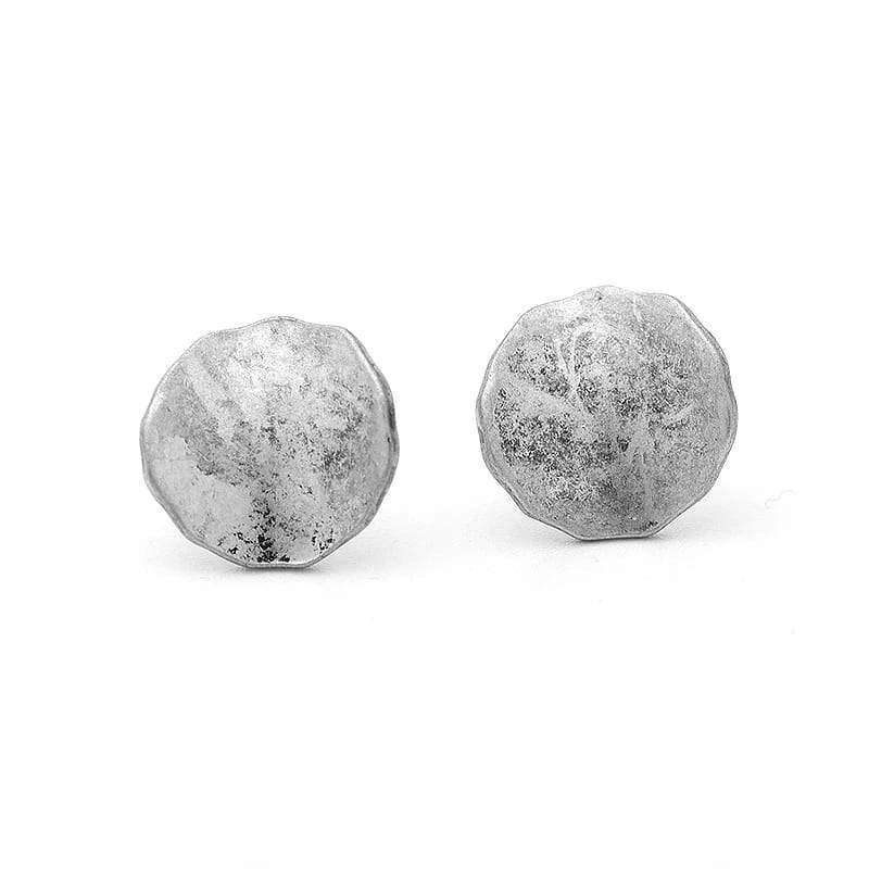 Unique Stud Earrings Earrings Handmade Antique Silver