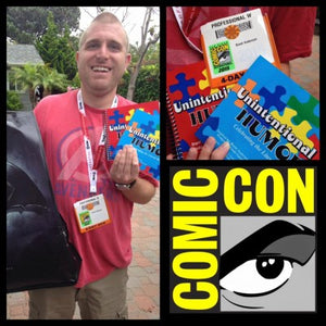 2017- My 10th year at Comic-Con