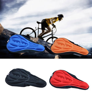 3D Soft Bike Seat Saddle for A Bicycle Cycling Silicone Seat Mat Cushion Seat Cover Saddle Bicycle Bike Accessories