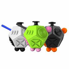 Fidget Cube Stress Upgraded 2 Antistress Magic Stress Cube Relieve Anxiety Boredom Finger Tips Anti Irritability Toys