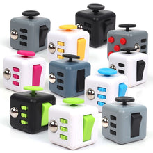 Fidget Pad Fidget Cube Toys Squeeze Fun Stress Reliever Fidget Toy Puzzle Magic Cube Toys Stress Cube Come With Box Stress Wheel