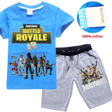 Fornite Game Pyjama Sets Nighties Battle Royale pijamas Big Boys Sleepwear Kids Pajamas Set Children Sports Suits Tees + Pants