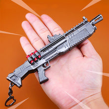 Fortnit keychain Fortnight Battle Royale Action Figure Toys Children Gifts Metal Gun Weapon Model Fort Nite Night