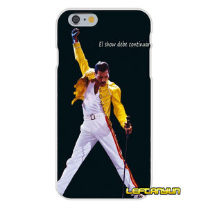 Freddie Mercury Band Queen Slim Silicone phone Case For Huawei G7 P8 P9 p10 Lite 2017 Honor 5X 5C 6X Mate 7 8 9 Y3 Y5 Y6 II