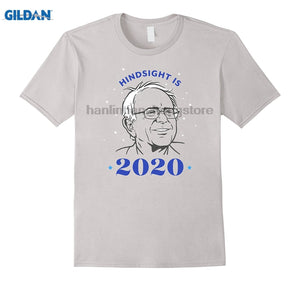 8. GILDAN Hindsight is 2020 Vote Bernie Sanders Shirt Relaxed Fit