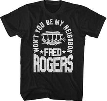 Mr Rogers Neighborhood Won't You Be My Neighbor Fred Rogers Adult T Shirt