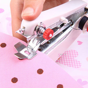 Popular lovely Cordless Hand-held Clothes Sewing Machine Home Travel Use tools