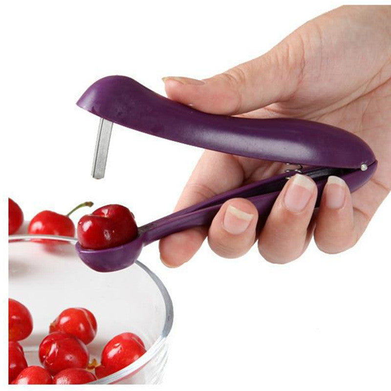 Kitchen Fashionable Easy Cherry Fruit Core Seed Remover Cherry Gadgets Tools Fruit Cherry Pitter Corer Kitchen Tool Accessories - I need more allowance