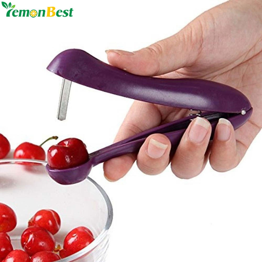 Handheld Cherry Pitter Olive Pitter Plastic Fruit Core Seed Corer Remover Manual Machine Kitchen Fruit Gadgets Tool Random Color - I need more allowance
