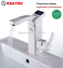 3500W Electric Instant Water Heater Tap Instantaneous Electric Hot Water Faucet Tankless Heating Bathroom Kitchen Faucet - I need more allowance