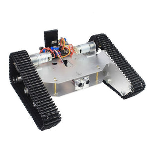 DIY Tracked Tank Chassis Kit Crawler Remote Control Robot With DC Motor Mobile Phone Bluetooth APP Control RC Toy Model Gift Kid - I need more allowance