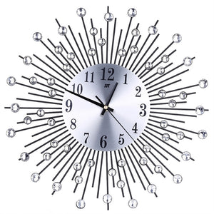 3D Wall Clock Diamonds Decorative Clock Wall Clock Living Room Decor Quiet Quartz Clocks Modern Minimalist Clocks - I need more allowance