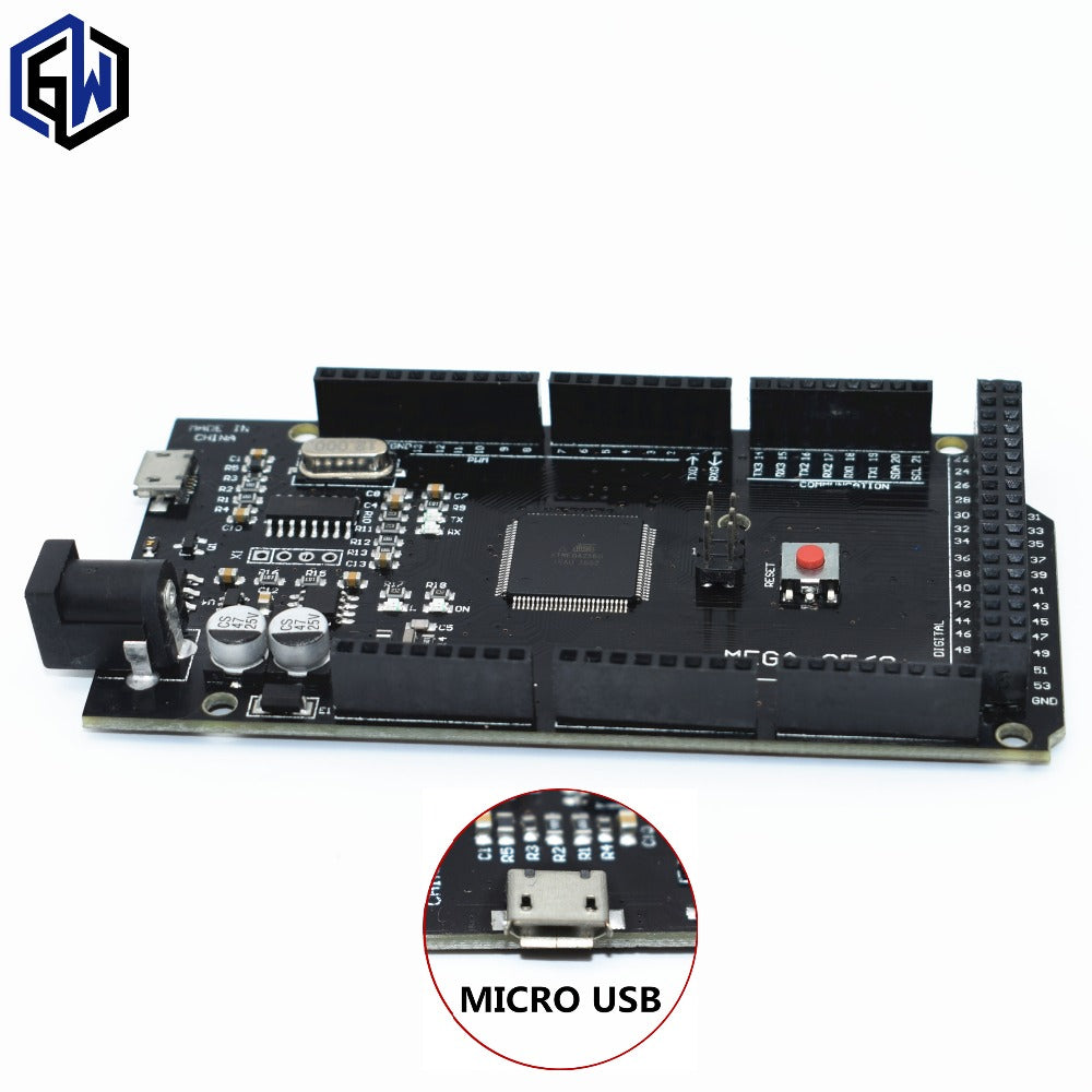 1pcs TENSTAR ROBOT Mega 2560 R3 for arduino CH340G/ATmega2560-16AU MicroUSB. With Bootloader - I need more allowance