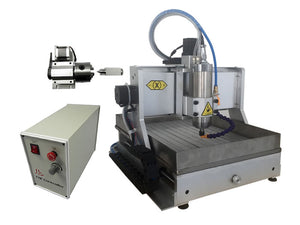 4axis mini cnc milling machine 3020Z VFD800W USB with water tank cnc router - I need more allowance