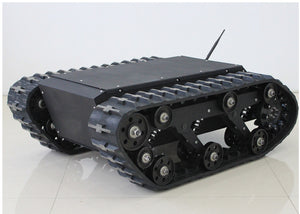 600t Tracked Robot Tank Chassis RC Smart Crawler Tank Platform Cross-obstacle Machine with Max Load 75kg - I need more allowance