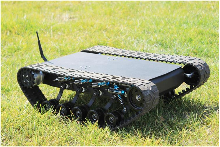 DOIT 138t Tracked Robot Tank Chassis RC Smart Crawler Tank Platform Cross-obstacle Machine with Max Load 20kg - I need more allowance