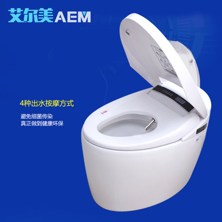 Intelligent toilet Fully Automatic Flushing Drying Toilet Seat Integrated Constant Temperature Smart Instant Hot Remote Control - I need more allowance
