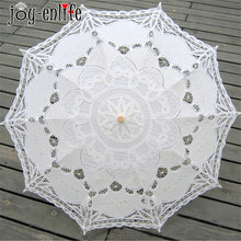 JOY-ENLIFE 1pcs Lace Umbrella Wedding Party Supplies Vintage Wedding Decoration Photo Props Wedding Gifts For Bride And Groom