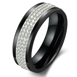 Black Titan Men's Ring