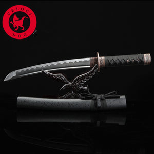 Wakizashi, Battle Ready Handmade Real 1045 Carbon Steel Japan Sword Full Tang samurai