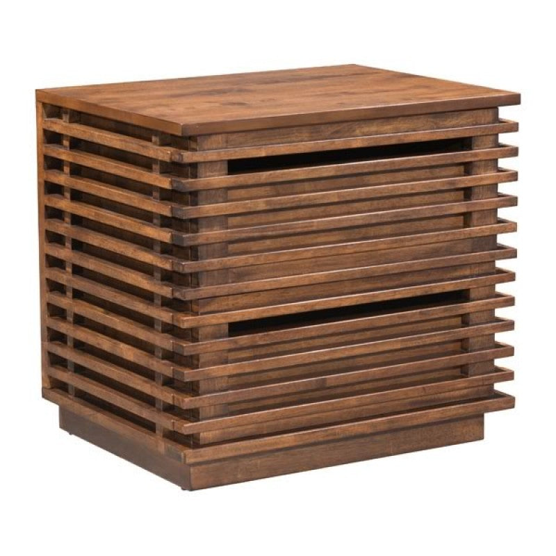 Slatted Nightstand