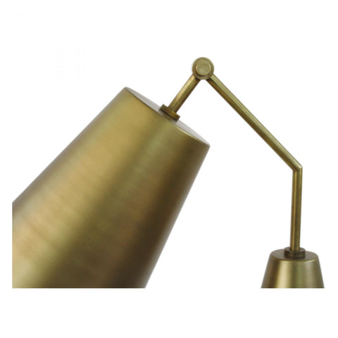 Tripod Floor Lamp Gold
